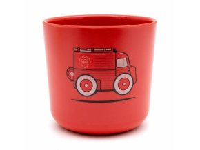 250 mini mug rouge type h camion pompier bambou ekobo citroen