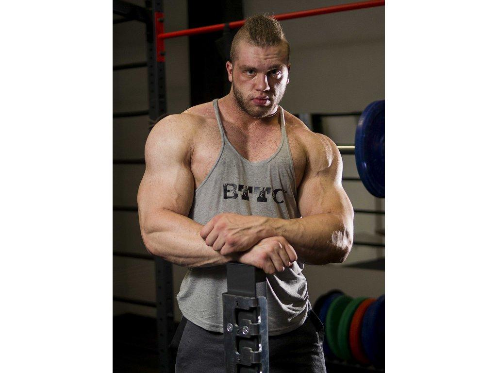 BTTC Bodybuilder TOP - sivý