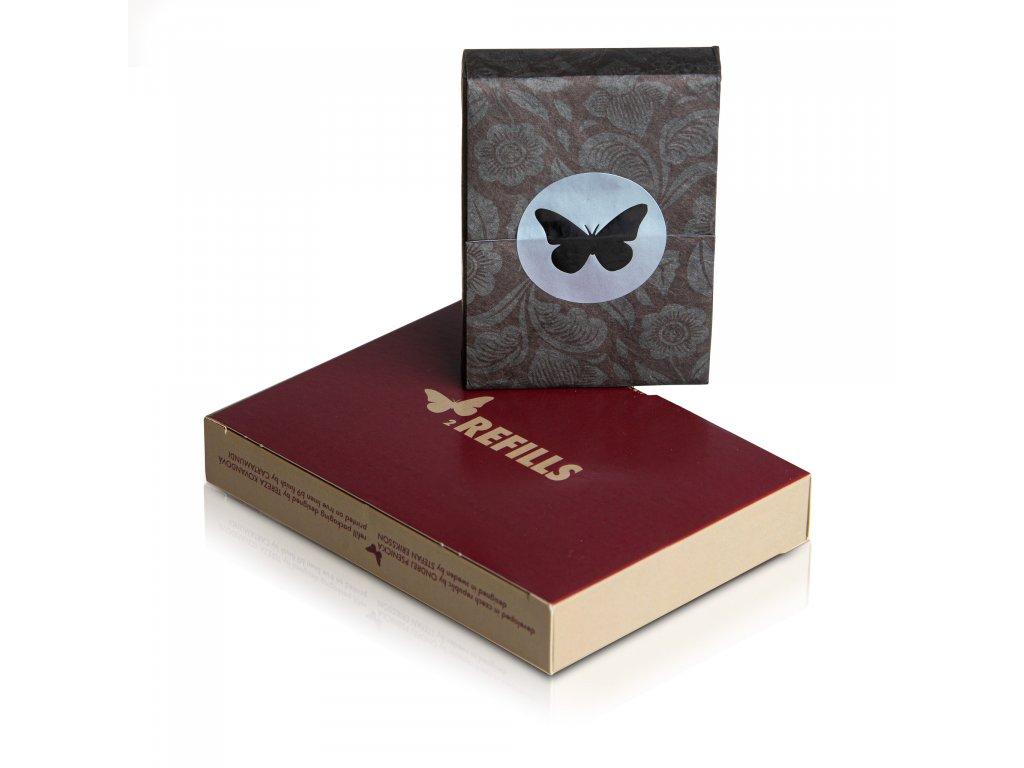 Karty Butterfly Playing Cards Červené