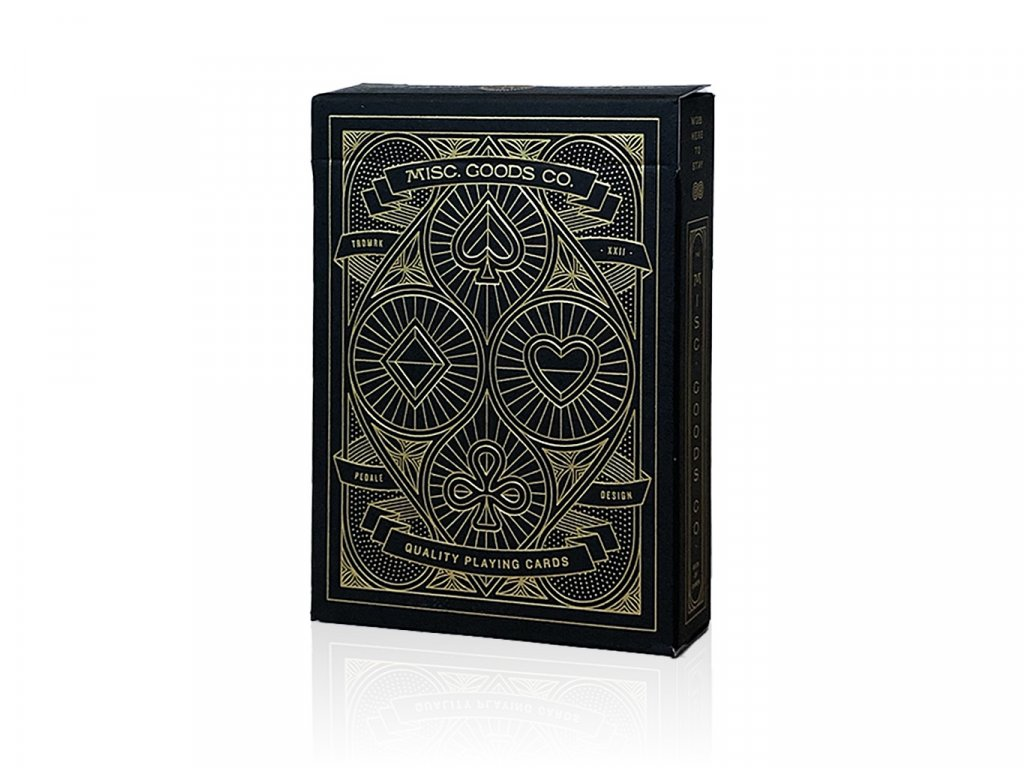 Misc Goods Playing Cards Black