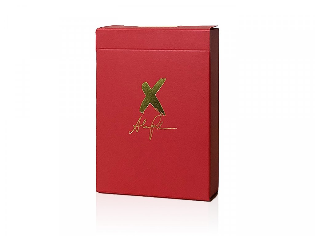 X Deck Red Playing Cards