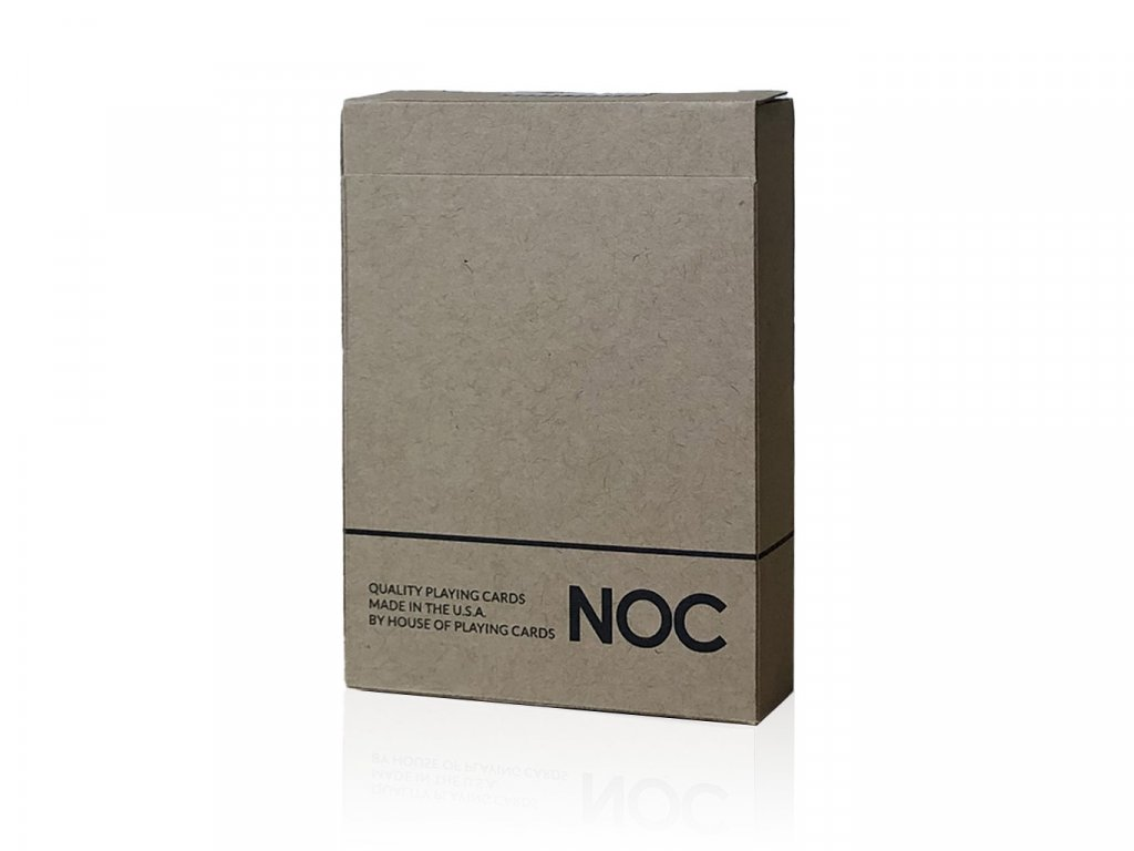 NOC on Wood Playing Cards