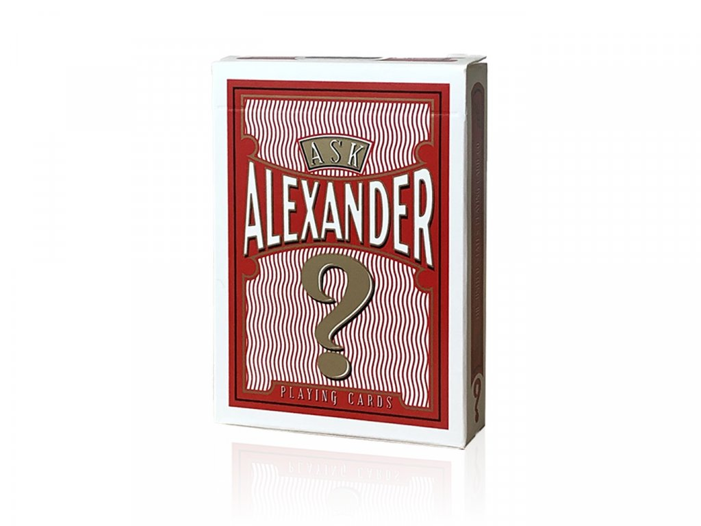 Ask Alexander Playing Cards