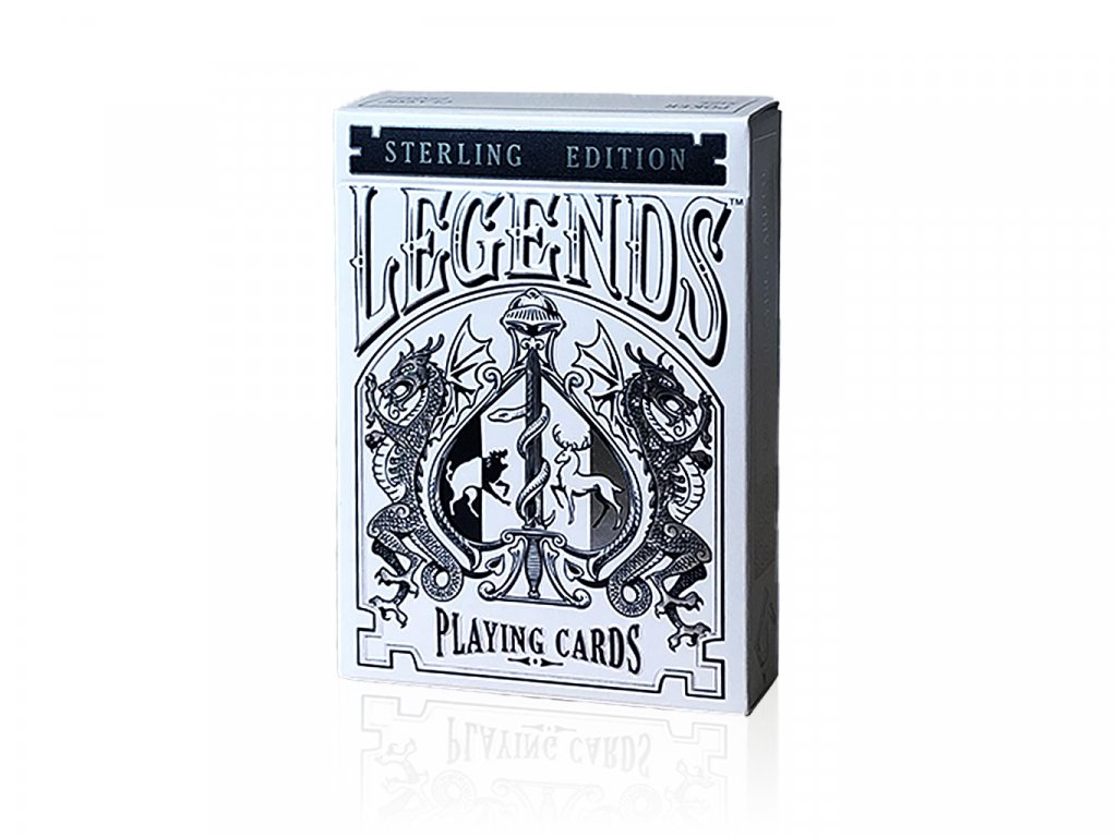 Legends Playing Cards Sterling Edition