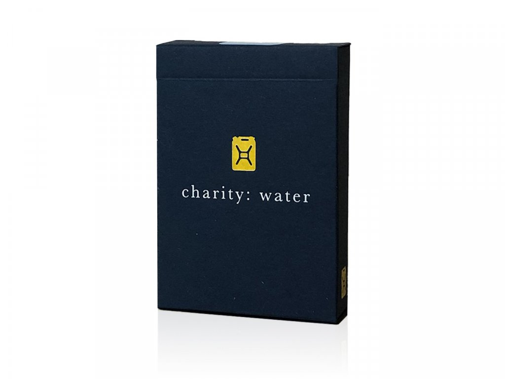 Charity Water Blue Playing Cards