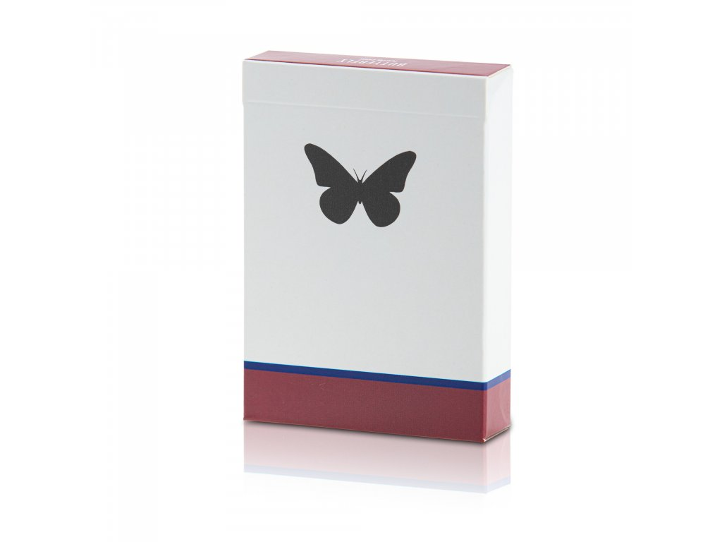 Karty Butterfly Playing Cards Side Stripper deck