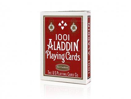 aladdin embossed red