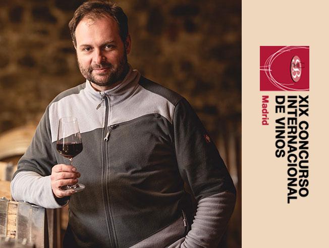 Náš sklepmistr Jiří Toman vyhlášen NEJLEPŠÍM ENOLOGEM (Vinařem) prestižní výstavy BACCHUS MADRID 2021.