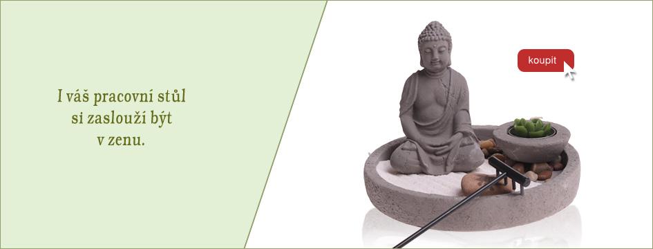 Zenová zahrada na váš pracovní stůl