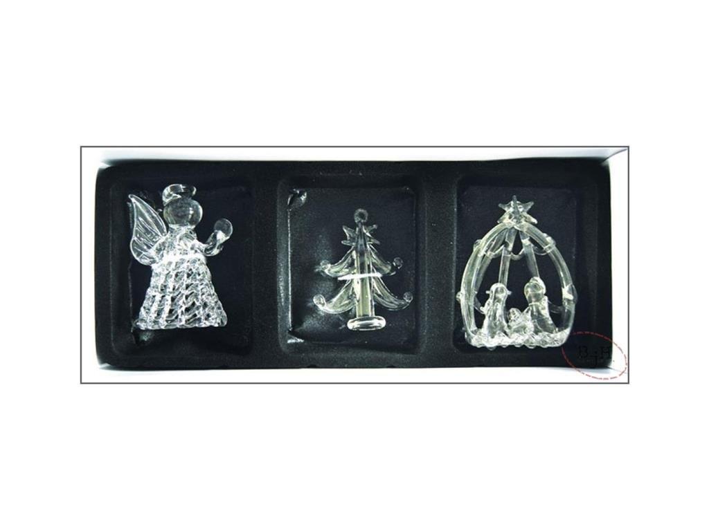 Vánoční dekorace skleněné