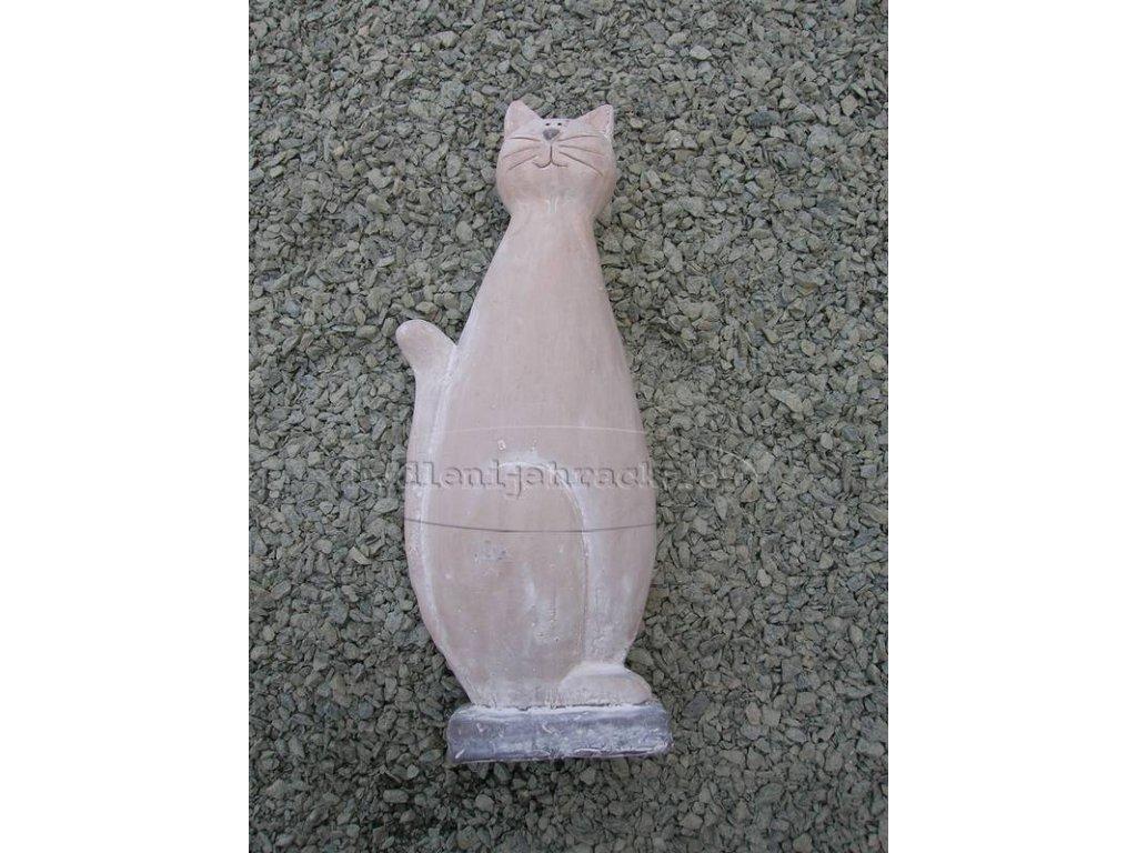 Kočka s podstavcem