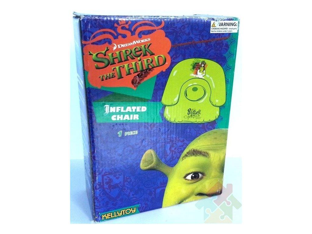 Nafukovací křeslo Shrek