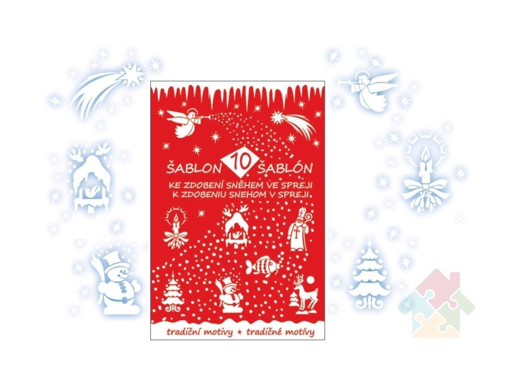 vánoční šablony 1401