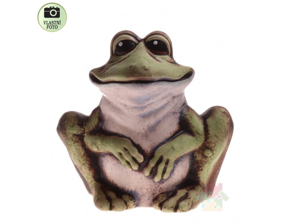 Keramická žába Betty