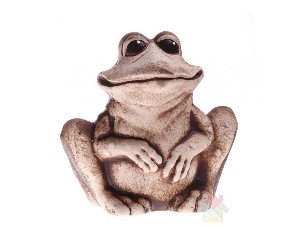 keramická žába