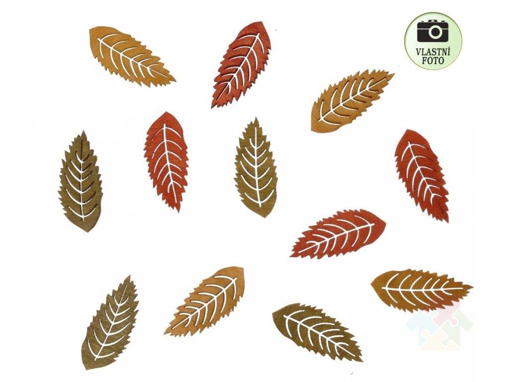 podzimní dekorace listy