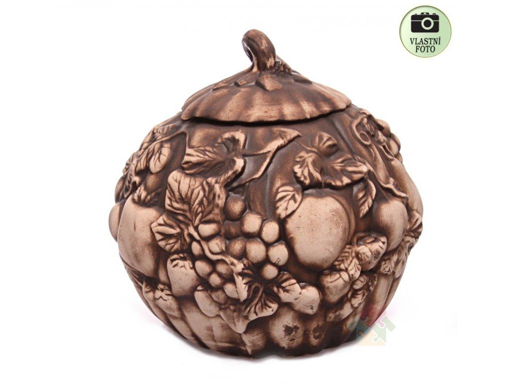 Dýně z keramiky dóza