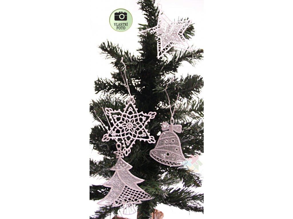 háčkované vánoční ozdoby 2508