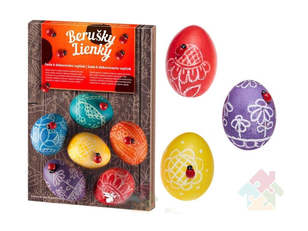 sada na zdobení velikonočních vajíček