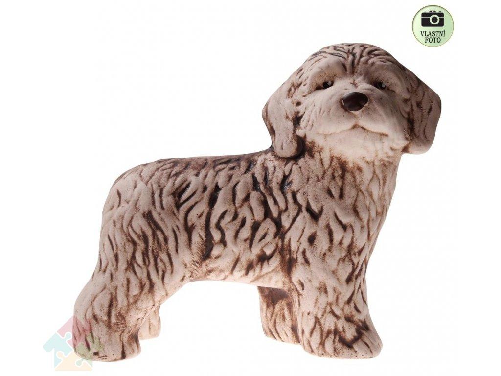 zahradní dekorace pes