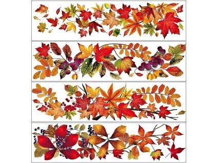 podzimní výzdoba oken