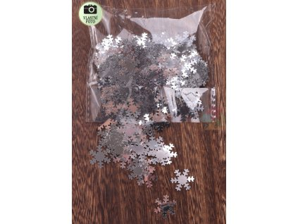 vánoční konfety