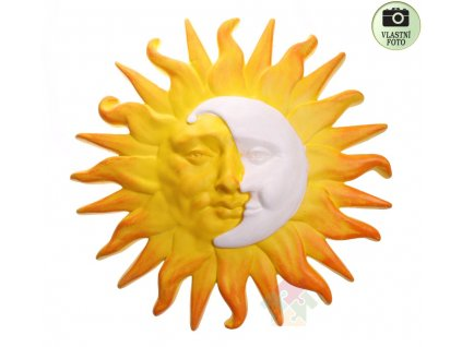 velké keramické slunce