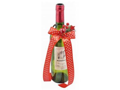 vánoční ozdoba lahve