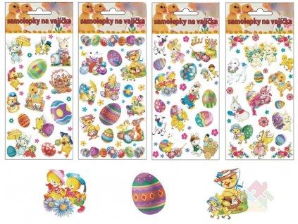 samolepky na velikonoční vajíčka