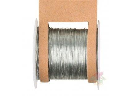 stříbrný vázací drát 2814