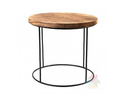 dřevěný stolek Nesa