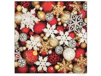 vánoční ubrousky 13014