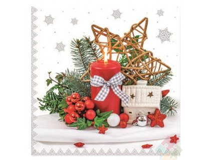 vánoční ubrousky 13015