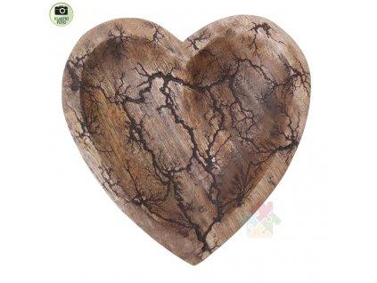 miska ze dřeva