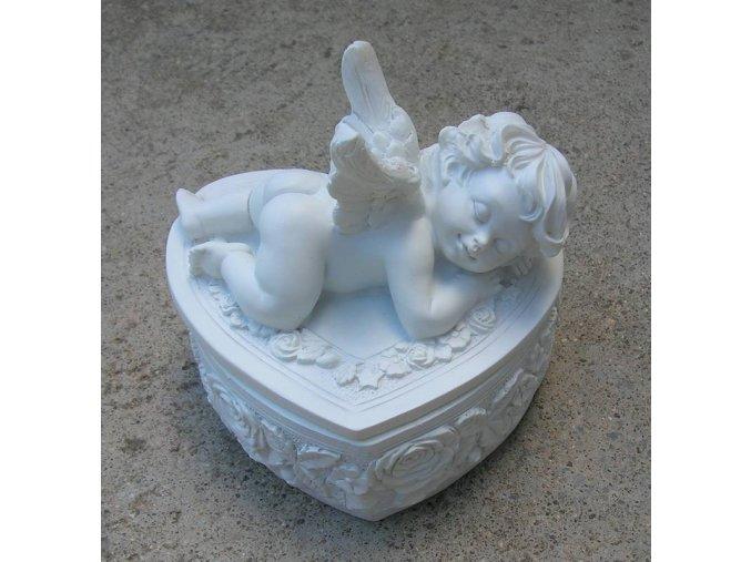 Anděl - šperkovnice