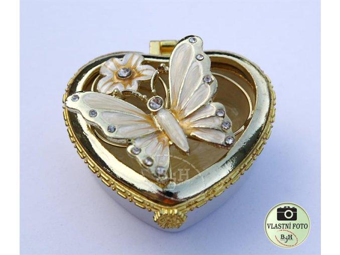 Šperkovnice srdce