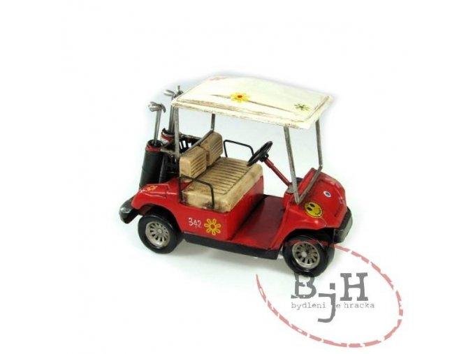 Replika golfového vozíku