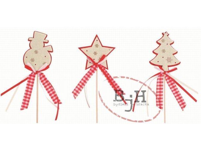 Vánoční dekorace - sada 3 kusů