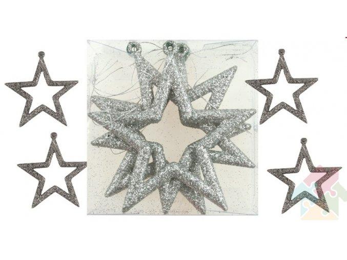 stříbrné hvězdy