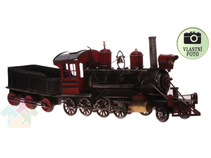 lokomotiva s uhlákem model