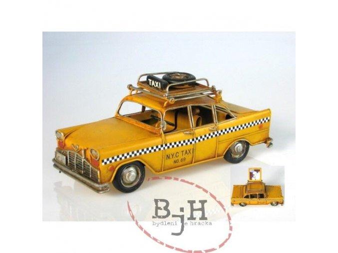 Replika taxiku s fotorámečkem