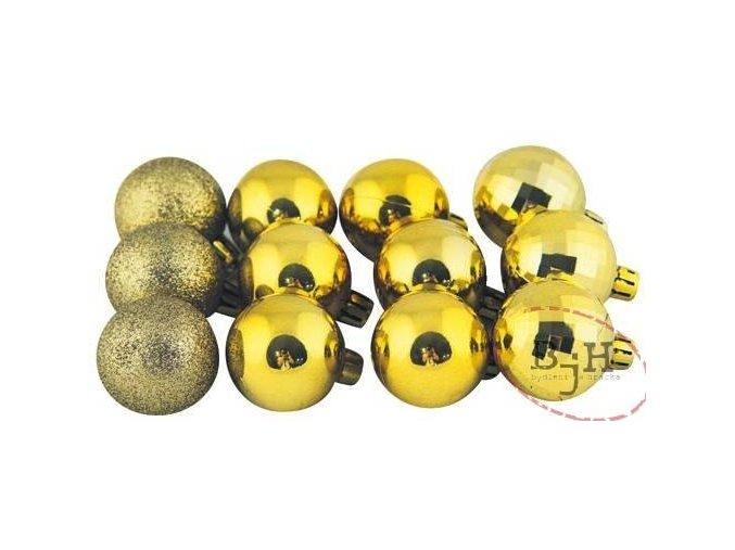 Vánoční ozdoby zlaté
