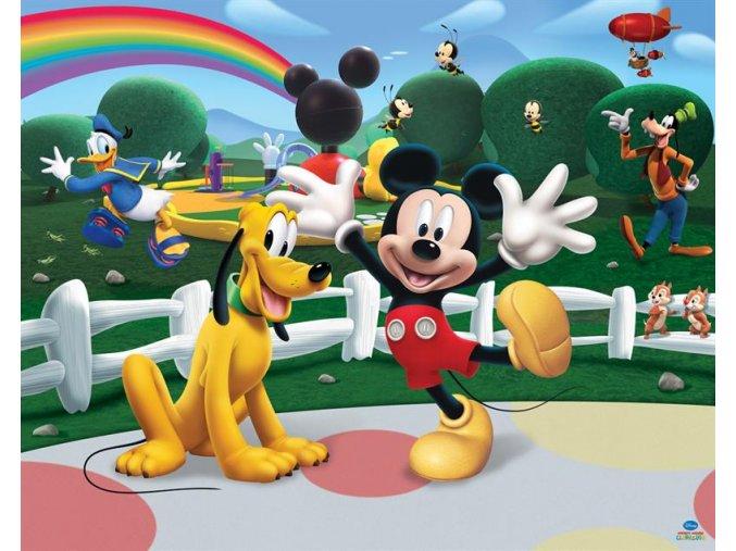 Dětská tapeta Mickey Mous