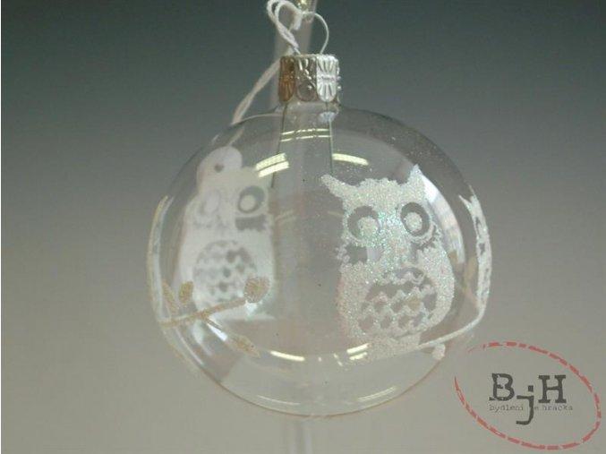 vánoční ozdoby ze skla