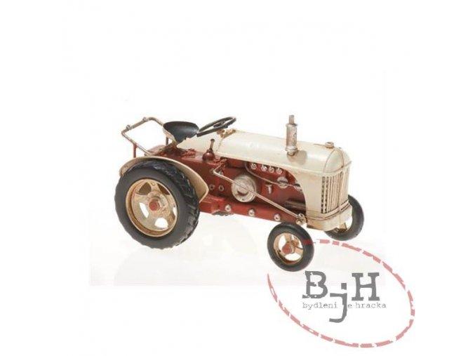 Kovový model traktoru