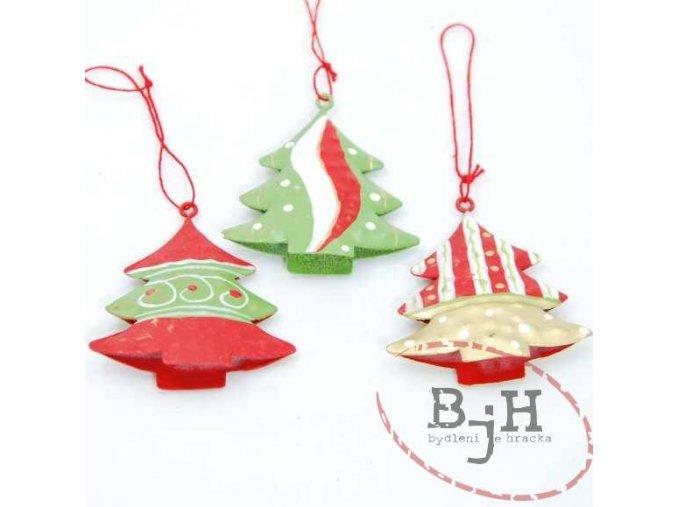 Vánoční ozdoby - sada 3 kusů