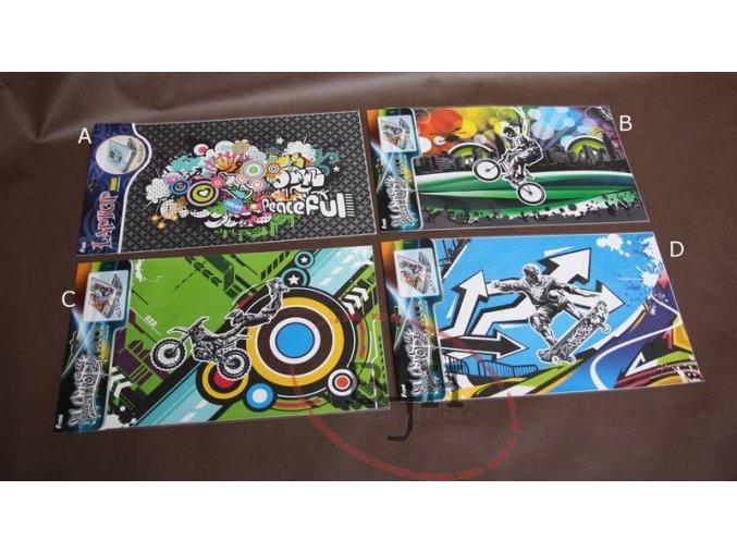 Samolepící dekorace na notebook