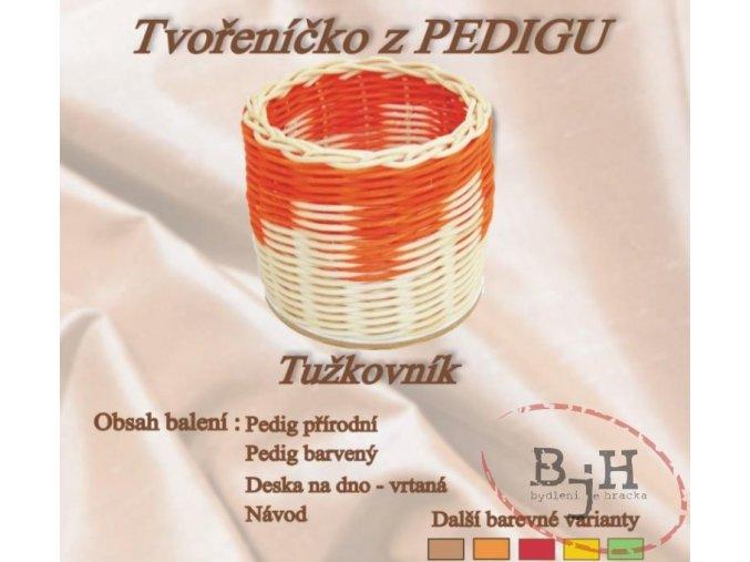 Tužkovník z pedigu - oranžový