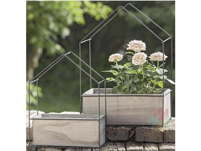 zahradní truhlíky