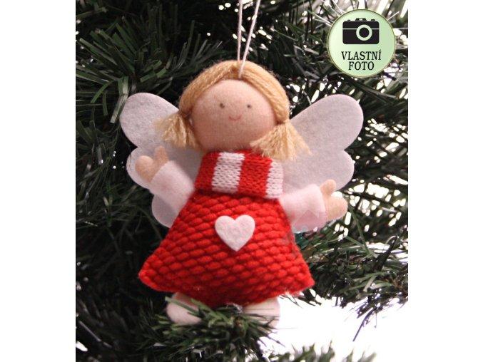 anděl na pověšení